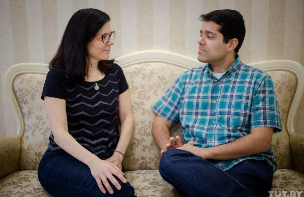 Brazilian couple lives in Minsk
