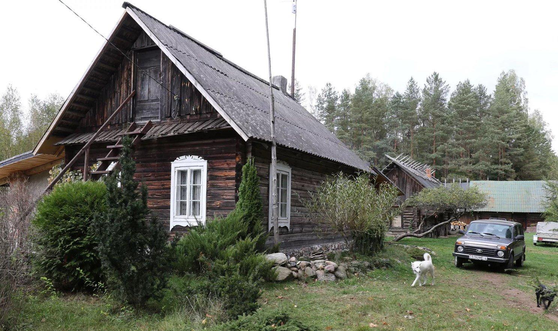 House in Naliboki, Belarus