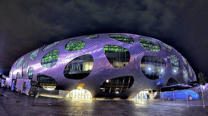 Football Arena in Barysaw, Belarus