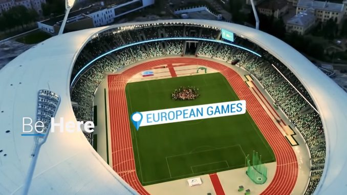 2 European Games in Minsk 2019