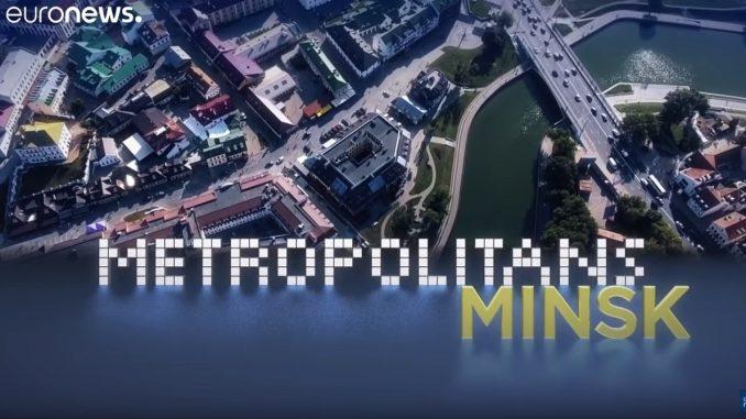 Euronews Metropolitan: TV program about Minsk, Belarus