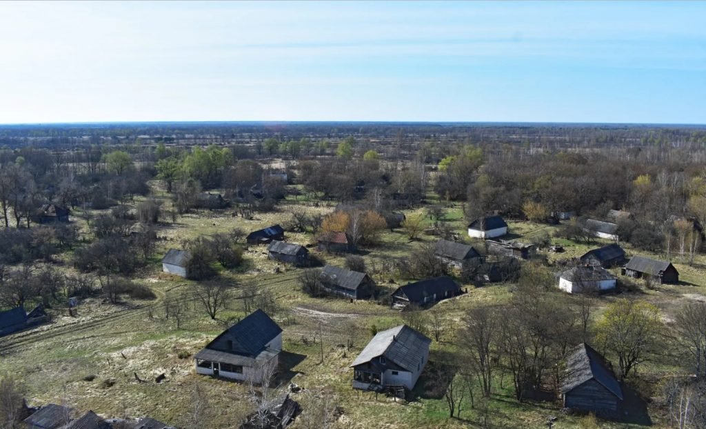 Belarus Chernobyl Exclusion Zone - Abandoned Villages