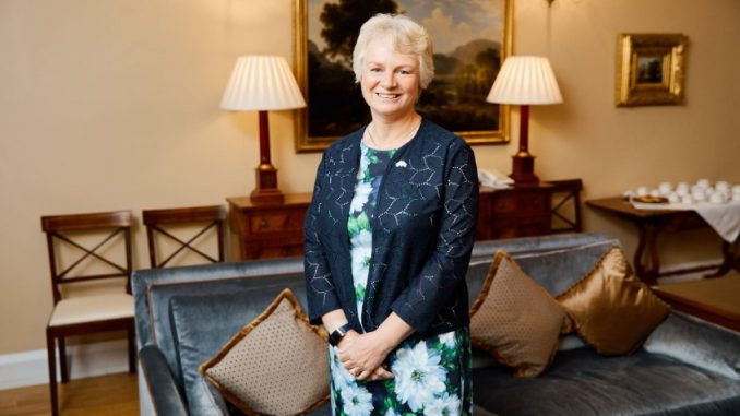 The new British Ambassador to Belarus, Jacqueline Perkins