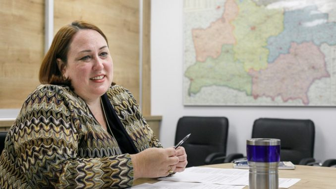 USA Charge d'Affaires in Belarus Jennifer Moore