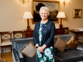 The new British Ambassador to Belarus, Jacqueline Perkins