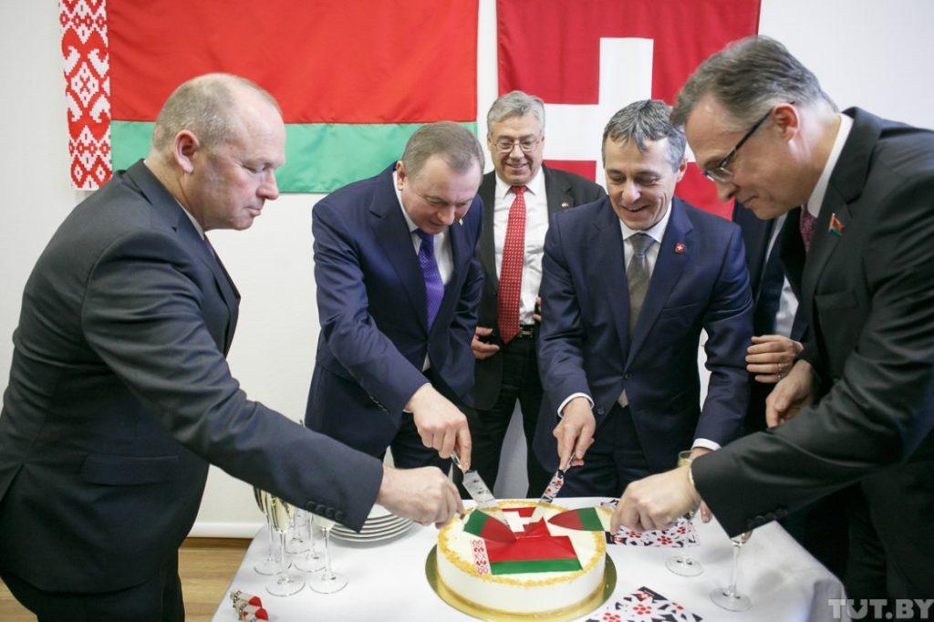 Swiss Embassy opens in Mins